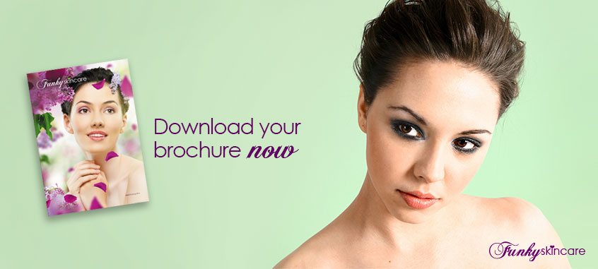 Download the latest Funky Skincare Brochure for 2016