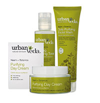 urban veda purifying neem and botanics set