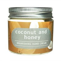 Coconut and honey hand cream