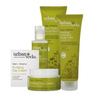 UVPR4GS - Urban Veda Purifying 4 Step Facial collection