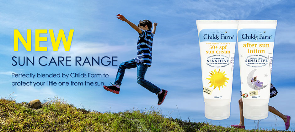 Childs Farm Sun Care Range