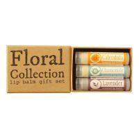Floral Lip Balm Gift Set