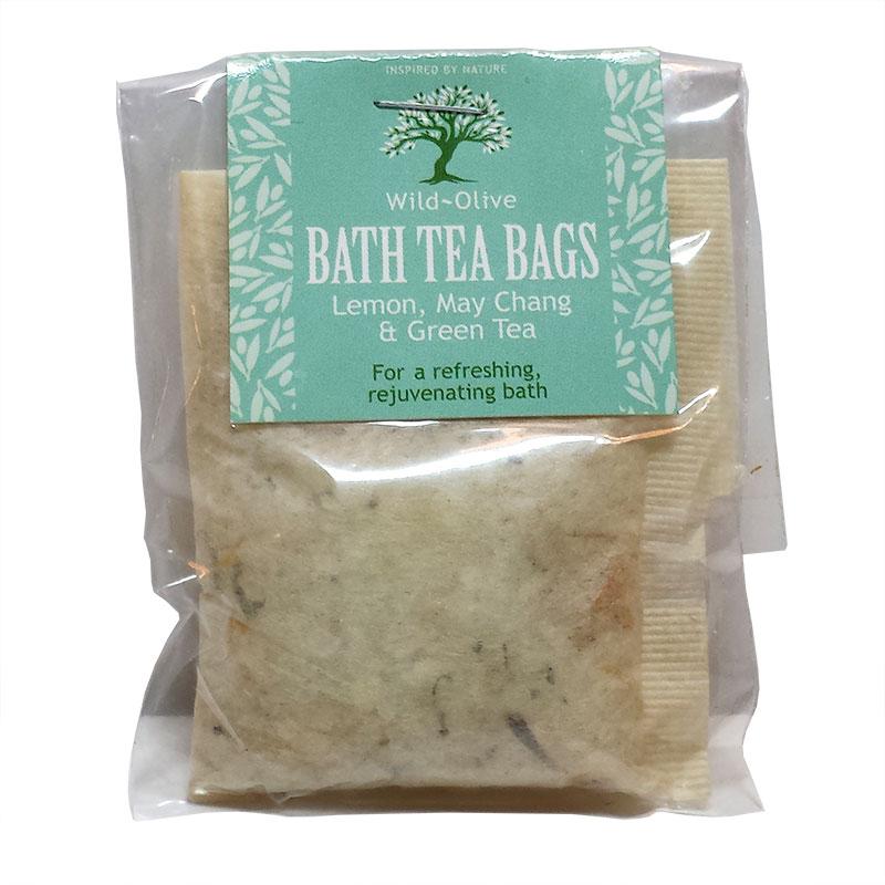 Lemon Maychang And Green Tea Bath Tea Bag Funky Skincare