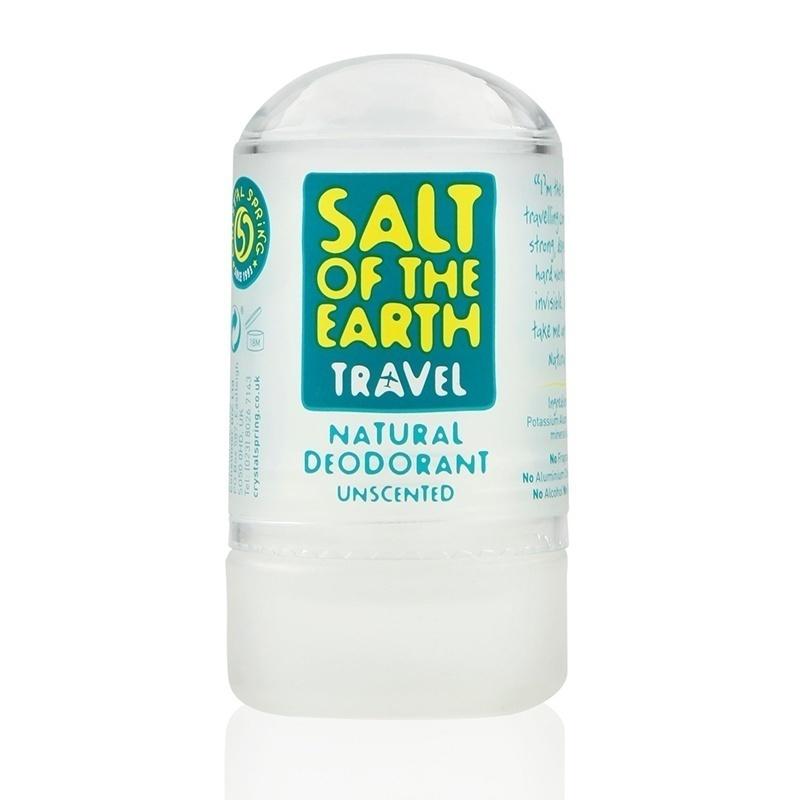 Salt stick deodorant