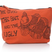 The good the bad and the ugly mens fish washbag