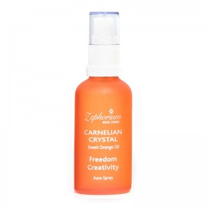 Sacral Chakra Aura Spray for Freedom and Creativity - Sweet Orange