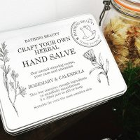 Craft Your Own Herbal Hand Salve Gift Set by Bathing Beauty