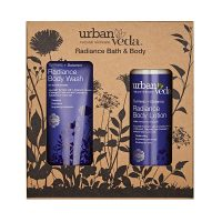 Radiance Bath and Body Gift Set by Urban Veda