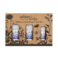 Radiance Facial Ritual Travel Set from Urban Veda - For Dry-dull skin