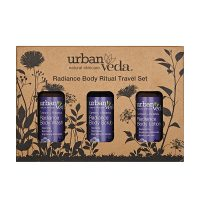 Radiance Body Ritual Travel Set by Urban Veda - For dry or dull Skin