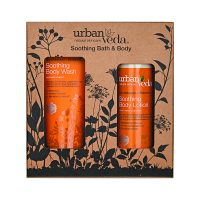 Soothing Bath and Body Gift Set by Urban Veda