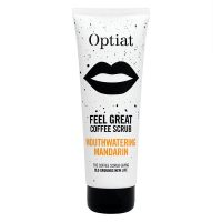 Optiat Mouthwatering Mandarin Vegan Coffee Scrub