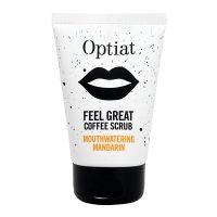 Optiat Mouthwatering Mandarin Vegan Coffee Scrub