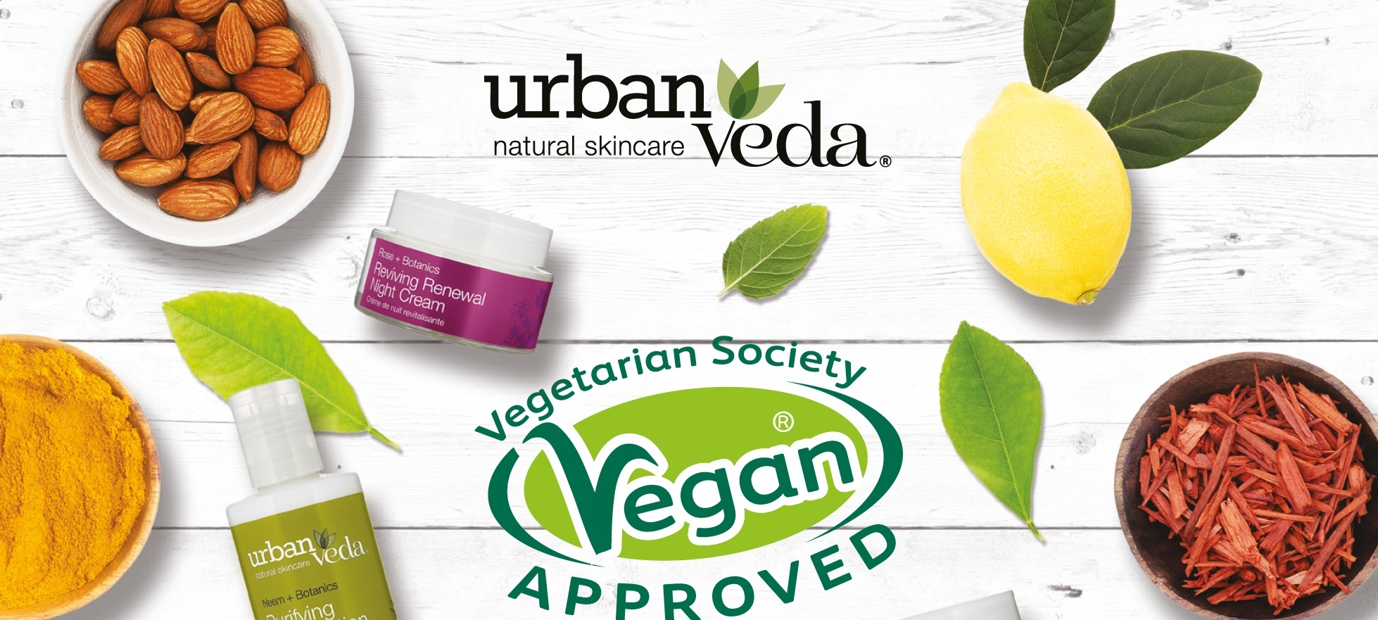 Urban Veda Vegan Society Approved