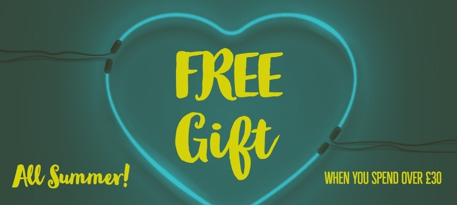 free gift this summer web banner