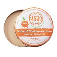 Elsa's Clementine Tin Deodorant