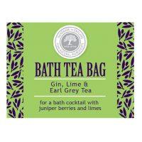 Gin lime and earl grey tea bag