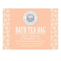 Rose vanilla roobios tea bag