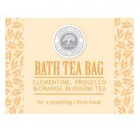 clementine prosecco tea bag