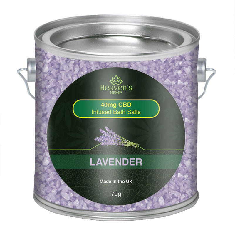 Lavender CBD Bath Salts